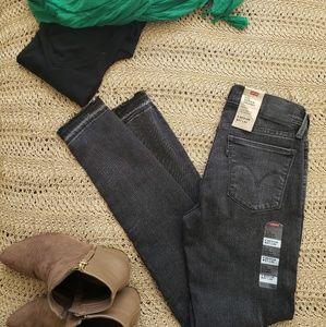 Levi's grey jeans Super skinny